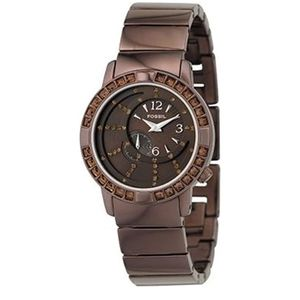Fossil F2 Collection Swarovski Crystals Watch